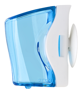 flipper basic toothbrush holder blue