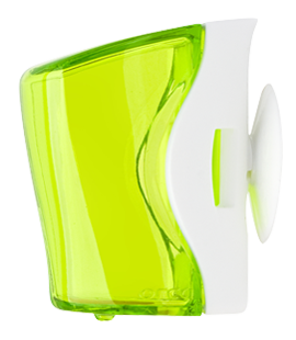 flipper basic toothbrush holder green
