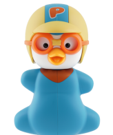 Flipper toothbrush holder pororo