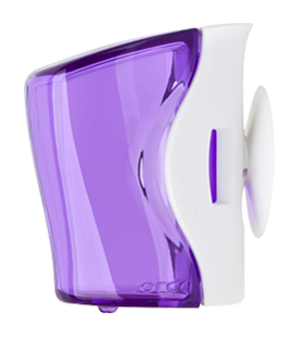 flipper basic toothbrush holder purple